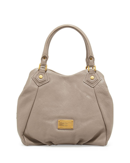 Classic Q Francesca Tote Bag, Warm Zinc