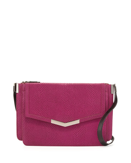Trilogy Shoulder Bag, Magenta