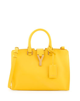 Saint Laurent Y-Ligne Cabas Mini Tote Bag, Soleil