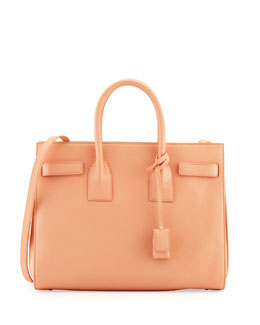Saint Laurent Sac de Jour Carryall Bag, Blush