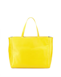 Saint Laurent Reversible East-West Shopper Tote Bag, Soleil