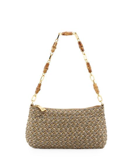 Bulu Bamboo Clutch Bag, Sulfate