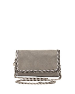 Stella McCartney Falabella Crossbody Bag, Light Gray