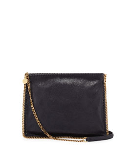 Stella McCartney Falabella Medium Crossbody Bag, Navy