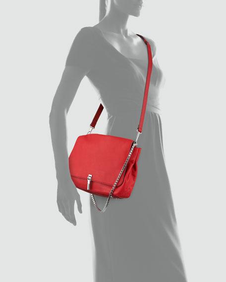 Cynnie Medium Crossbody Bag, Red Joy