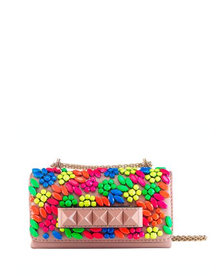 Va Va Voom Mini Bracelet Flap Bag, Poudre