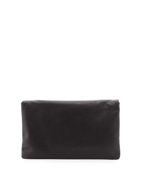 Classic Envelope Clutch Bag, Noir