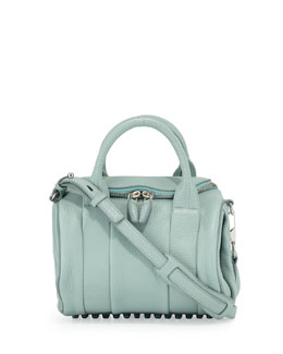 Alexander Wang Rockie Small Crossbody Satchel Bag, Peppermint