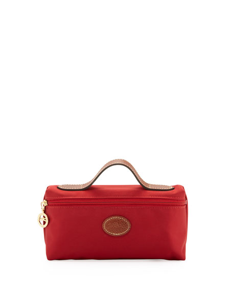Le Pliage Cosmetic Case, Deep Red