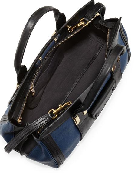 Alice Colorblock Satchel Bag