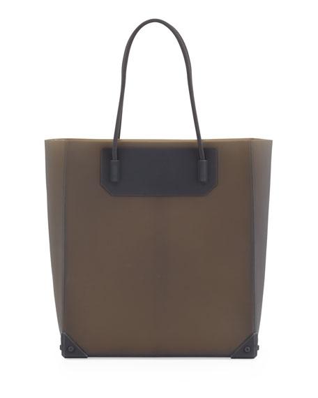 Prisma Molded Silicone Tote Bag, Sesame