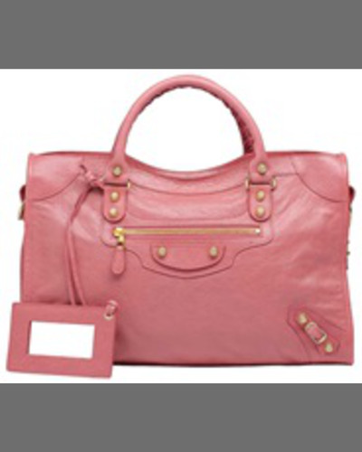Balenciaga Giant 12 Golden City Bag, Rose Azalee