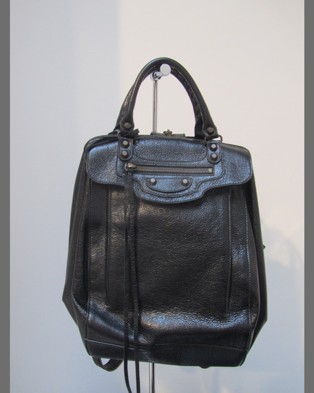 Classic Zip Travel Backpack, Black