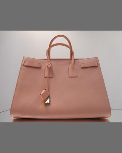Saint Laurent Sac de Jour Carryall Bag, Tan