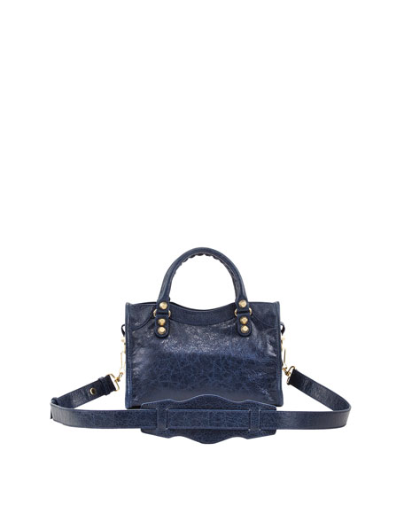 Giant 12 Golden City Mini Bag, Bleu Mineral