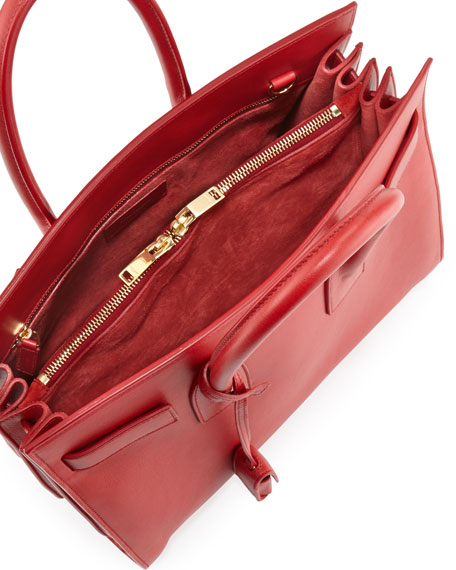 Sac de Jour Small Carryall Bag, Rouge