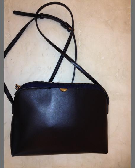 Multi-Pouch Crossbody Bag, Black/Navy