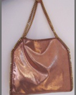 Stella McCartney Falabella Fold-Over Tote Bag, Copper
