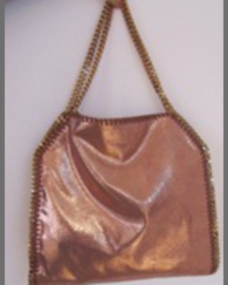Falabella Fold-Over Tote Bag, Copper