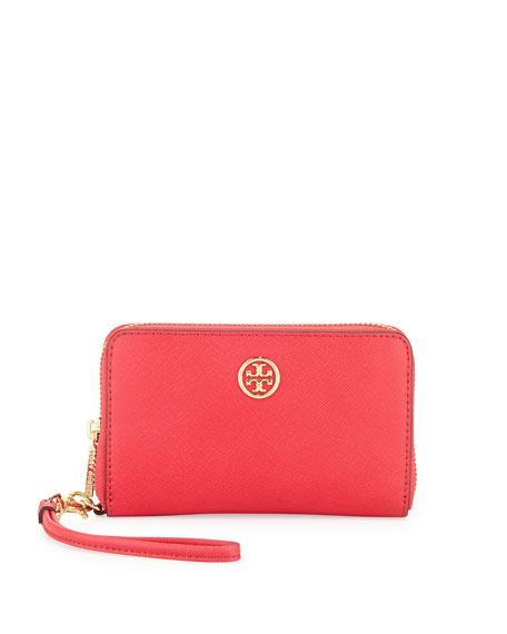 Robinson Smart-Phone Wristlet Wallet, Carnival Pink