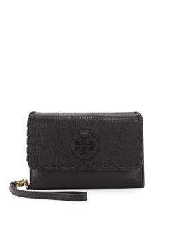 Tory Burch Marion Smart Phone Wristlet, Black