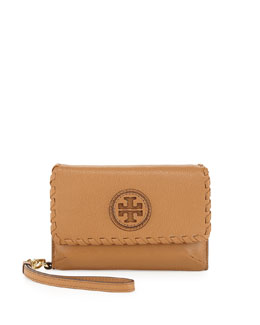 Tory Burch Marion Smart Phone Wristlet, Royal Tan