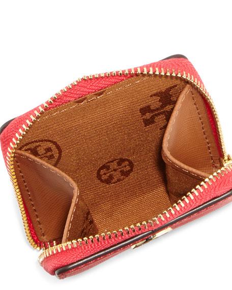 Robinson Mini Zip Coin Case, Carnival Pink