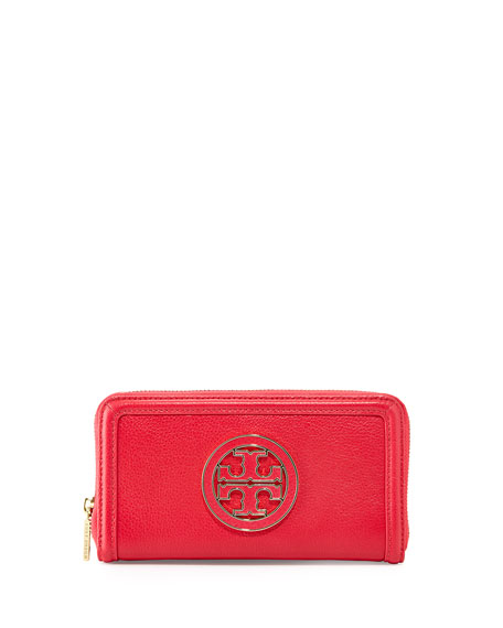 Amanda Continental Zip Wallet, Carnival Pink