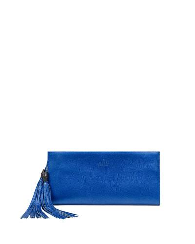 Gucci Nouveau Leather Clutch Bag