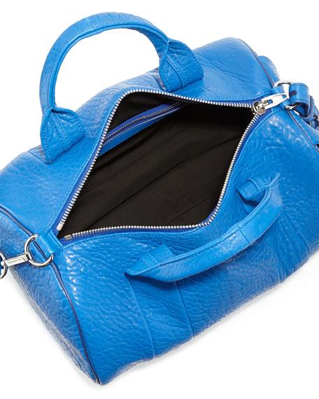 Rocco Stud-Bottom Duffel Bag, Royal Blue