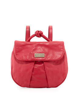 Marc By Marc Jacobs MARChive Leather Backpack, Raspberries