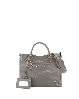 Balenciaga Giant 12 Golden Velo Bag, Dark Gray