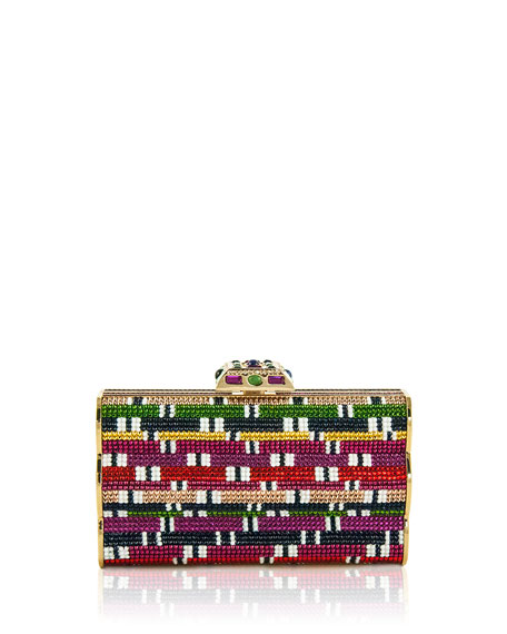 Figure Eight Crystal Clutch Bag, Multicolor