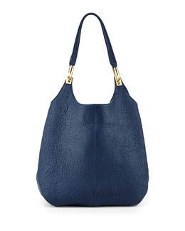 Elizabeth and James Cynnie Leather Shopper Bag, Yachting Navy