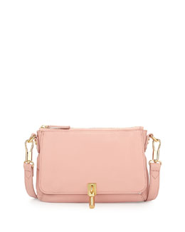 Elizabeth and James Cynnie Micro Crossbody Bag, Pink Beach