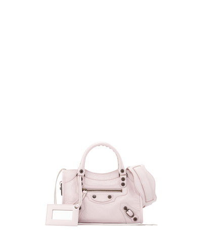 Balenciaga Classic Mini City Bag, Rose