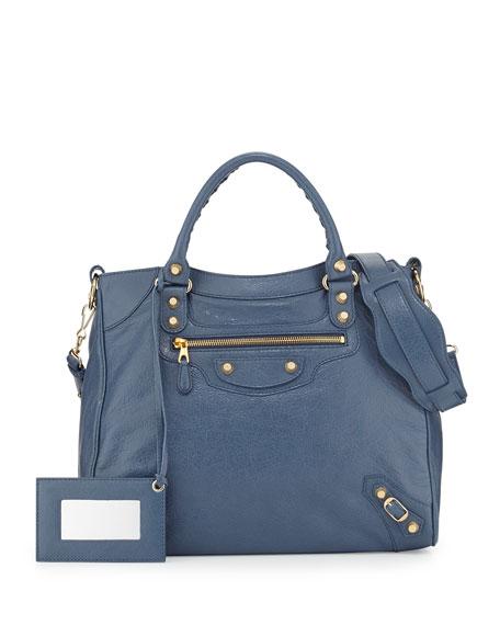 Balenciaga Giant 12 Golden Velo Bag, Bleu Persan