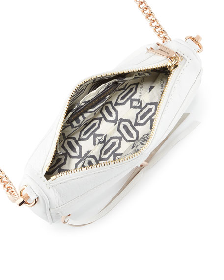 Mini MAC Crossbody Bag, White