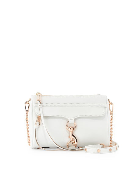 Rebecca Minkoff Mini MAC Crossbody Bag, White