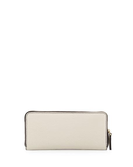 Sophisticato Slim Leather Wallet, Black