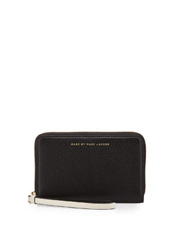 Marc By Marc Jacobs Sophisticato Mildred Wristlet Wallet, Black