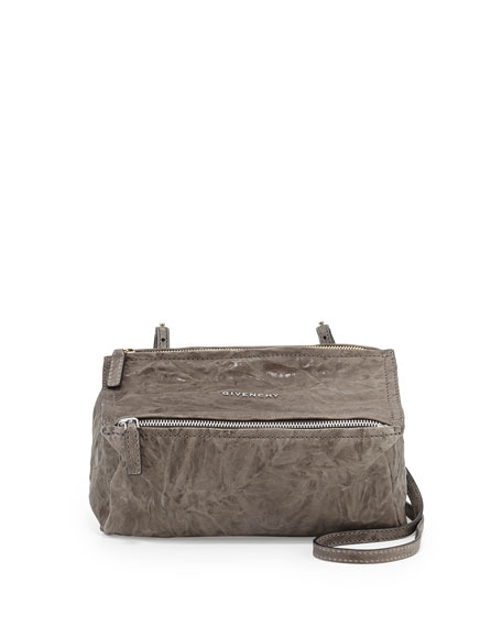 Givenchy Pandora Mini Crossbody Bag, Charcoal