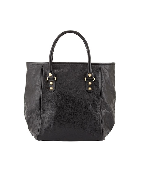 Giant 12 Golden Sunday Tote Bag, Black