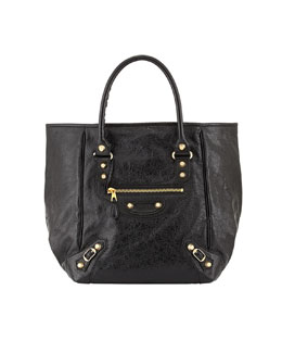 Balenciaga Giant 12 Golden Sunday Tote Bag, Black