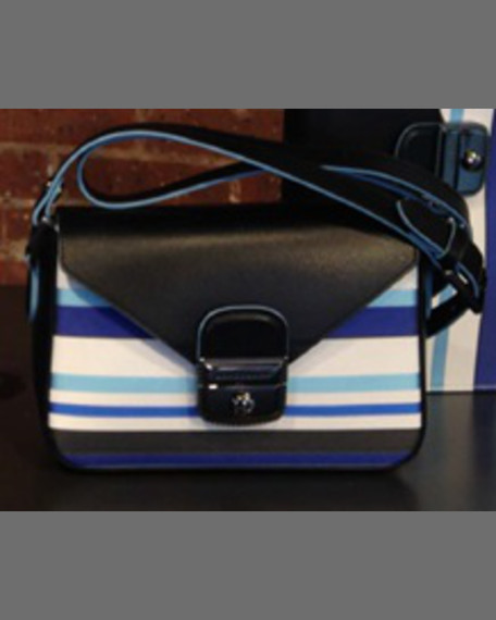 Longchamp Le Pliage Heritage Small Tricolor Crossbody Bag,