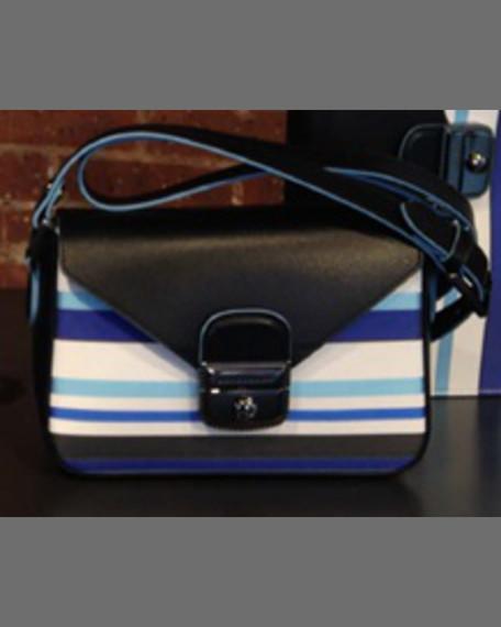 Longchamp Le Pliage Heritage Small Tricolor Crossbody Bag,