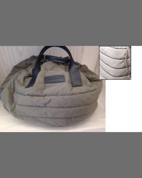 Brunello Cucinelli Puffer Drawstring Tote Bag w/Monili Trim,