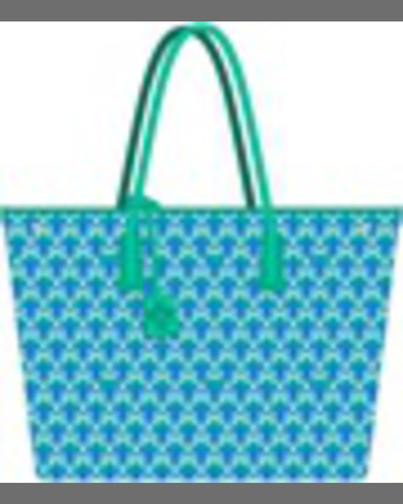 Liberty London Marlborough Iphis Printed Tote Bag, Green