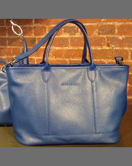 Longchamp Le Foulonne Zip Tote Bag, Natural