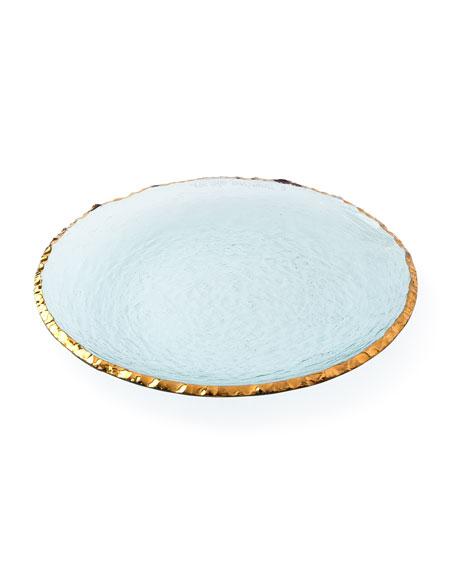 Annieglass Edgey Round Platter